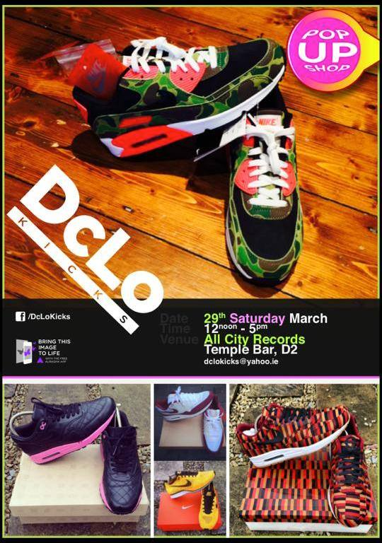 dclo kicks march poster