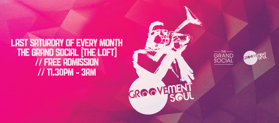 GROOVEMENT SOUL MONTHLY RESIDENCY